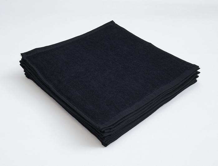 業務用タオル ブラック クロ おしぼりタオル