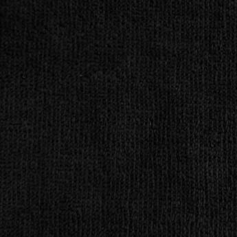 ハンドタオル ブラック シャーリング