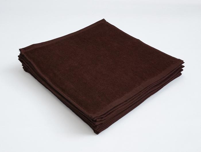 ブラウン 業務用タオル おしぼり