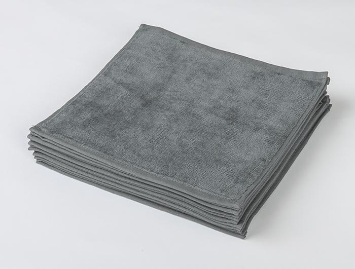 業務用タオル グレー 灰色 ハンドタオル セット