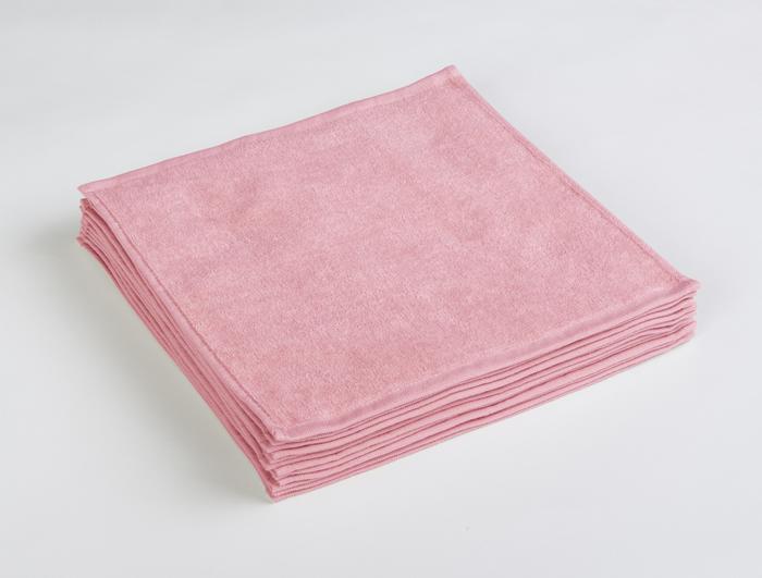 業務用タオル おしぼりタオルのピンク
