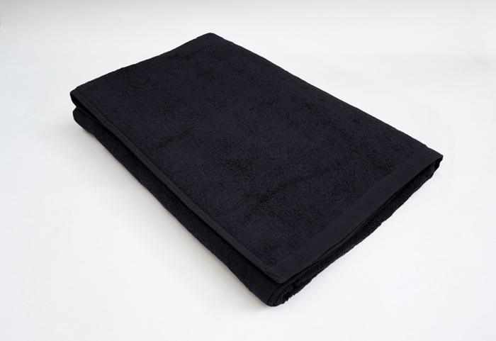 バスタオル 黒 クロ 業務用タオル 専門店 10枚セット