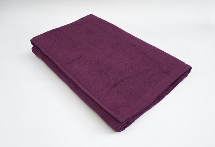 バスタオル パープル 紫色 スレン染め