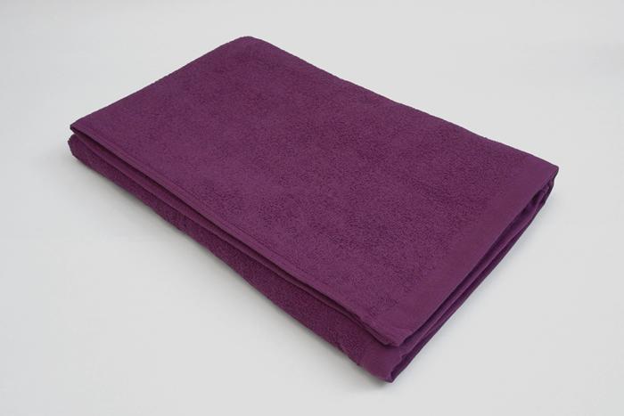 バスタオル 紫色 業務用タオル